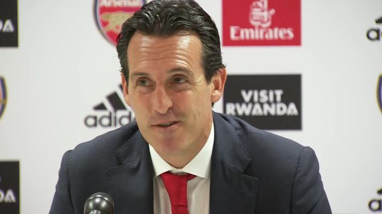 Unai Emery says Arsenal never ever want to play against Liverpool