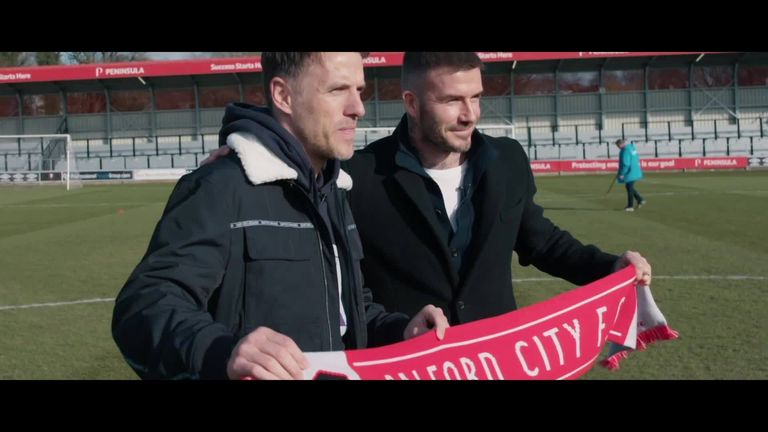 The Class of '92 Full Time is back on Sky Sports as Salford City's incredible journey continues