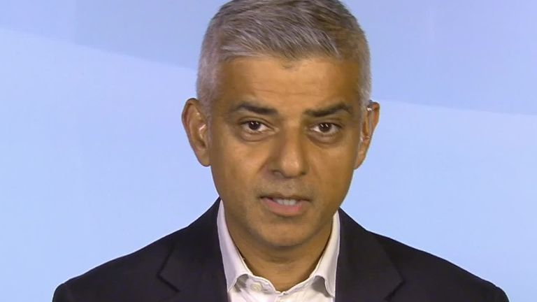 London Mayor Sadiq Khan said 'definitely' when asked whether article 50 should be revoked