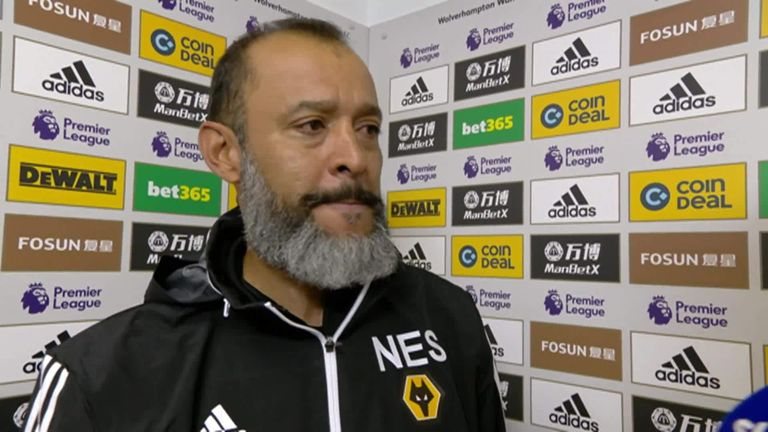 Nuno Espirito Santo was proud of his side's second-half turnaround