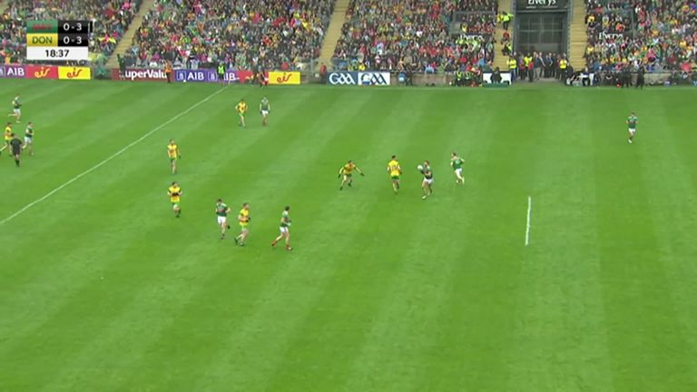 Highlights of Mayo's win over Donegal
