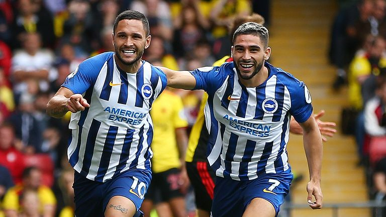Highlights from Brighton's 3-0 win over Watford in the Premier League