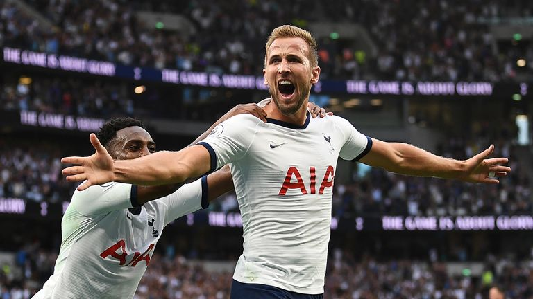 Highlights from Tottenham's 3-1 win against Villa in the Premier League