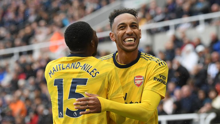 Highlights from Arsenal's 1-0 win against Newcastle in the Premier League