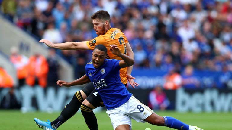 Highlights from the 0-0 draw between Leicester and Wolves in the Premier League