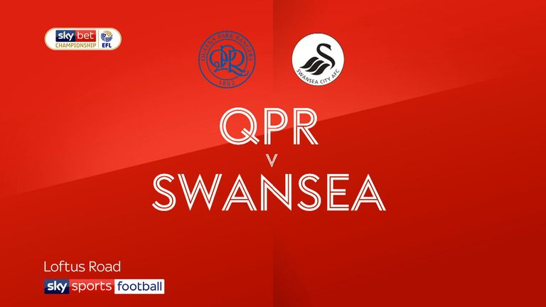 Highlights from the Sky Bet Championship match between QPR and Swansea City.