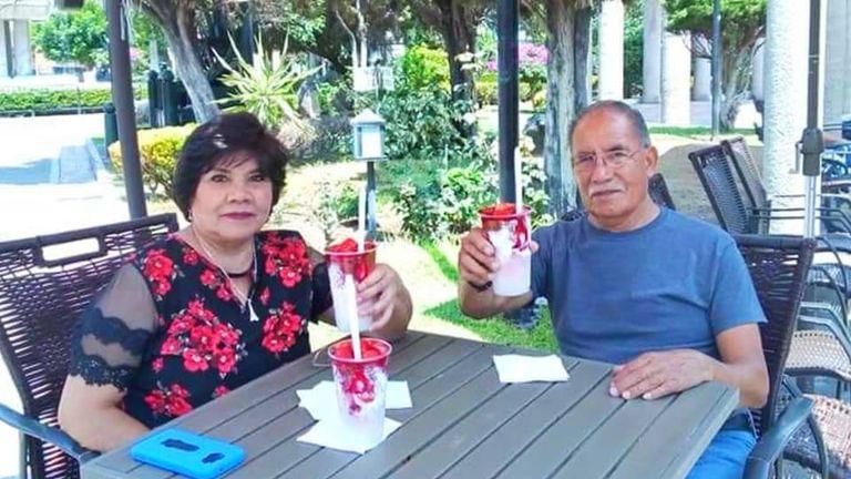 Adolfo Cerros Hernandez and his wife Sara Esther Regalado