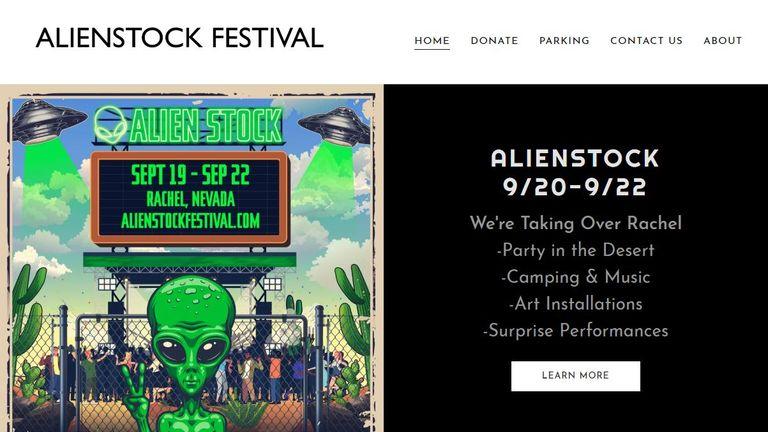 Alienstock says it is 'taking over' Rachel, Nevada