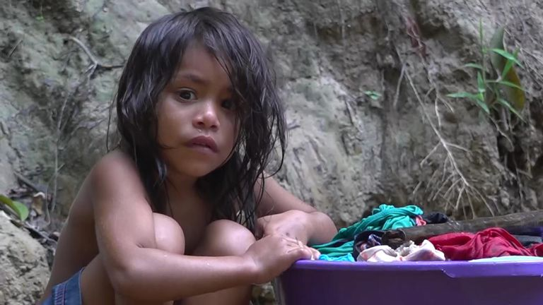 The indigenous people fear their children will have no future
