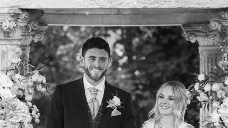 Andrew Harper on his wedding day. Pic: Mark Lord Photography