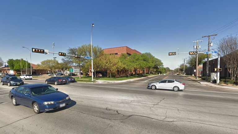 Emergency crews were checking on a woman believed to be unconscious on a grassy area near Cantor Drive and N. Collins Street in Arlington, Texas on Thursday