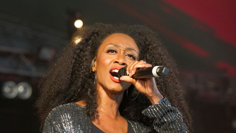 XFORD, ENGLAND - JULY 05: Beverley Knight performs during Cornbury Festival 2019 on July 05, 2019 in Oxford, England. (Photo by Steve Thorne/Getty Images)