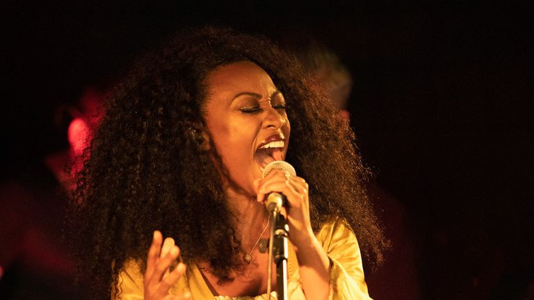 LONDON, ENGLAND - AUGUST 14: Beverley Knight performs on stage singing songs of Stevie Wonder at The Court on August 14, 2019 in London, England. (Photo by Jo Hale/Getty Images)