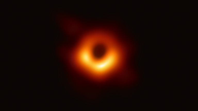 The black hole within the M87 galaxy was the first to be photographed - it is 6.5 billion times bigger than the Sun