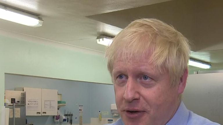 Boris Johnson says a lot of hard work is required to avoid a no-deal Brexit