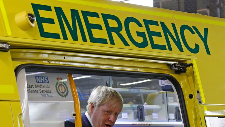 The NHS is Boris Johnson's key domestic policy