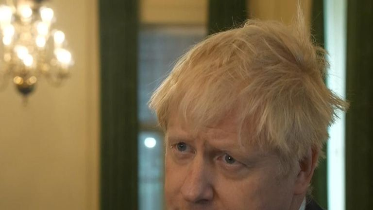 Boris Johnson reacts to the murder of PC Andrew Harper in Berkshire