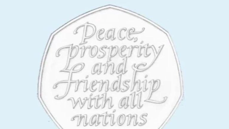 Chancellor Sajid Javid is drawing up plans for millions of 50p Brexit coins to
