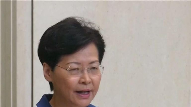 Carrie Lam insists she has answered the question
