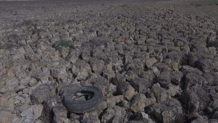 The country is experiencing one of its worst droughts in sixty years