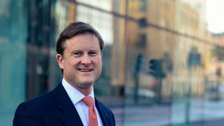 Hargreaves Lansdown chief executive Chris Hill. Pic: Hargreaves Lansdown Plc