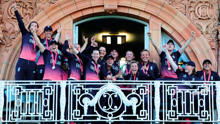 The women's team beat India in 2017