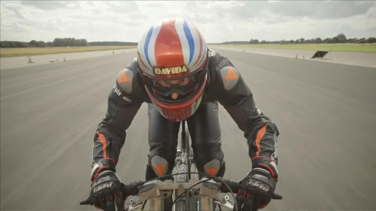Neil Campbell is officially the fastest man on two wheels – after travelling at a world record 174.339mph on his £15,000 bike.