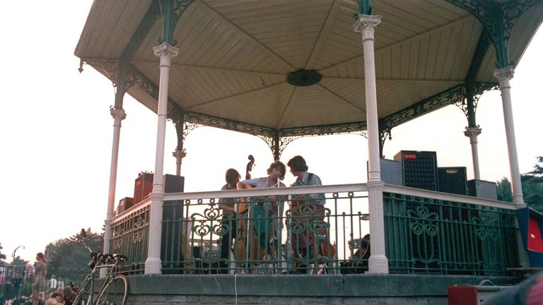 A south London bandstand associated with David Bowie has been Grade II listed