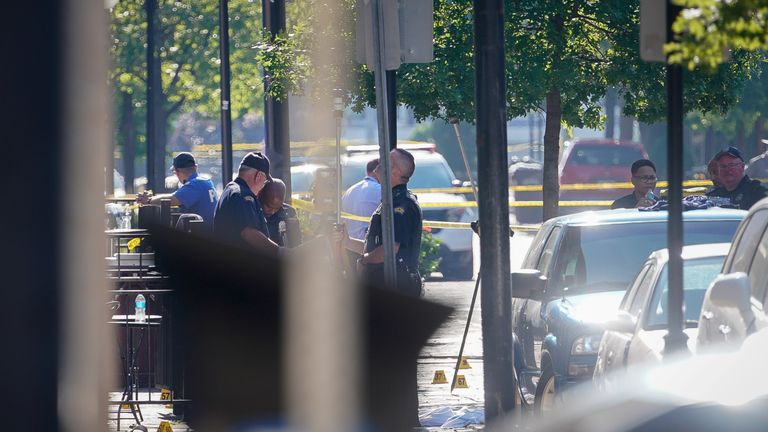 Authorities say the gunman's identity has been confirmed, and that further details would be released in due course