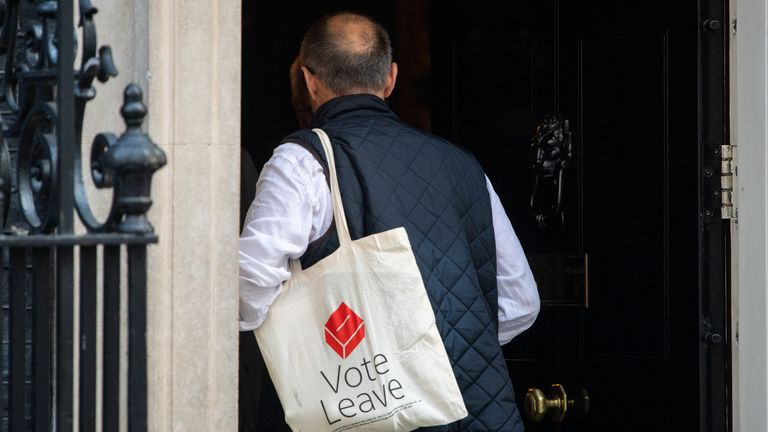 Cummings was the campaign director for Vote Leave