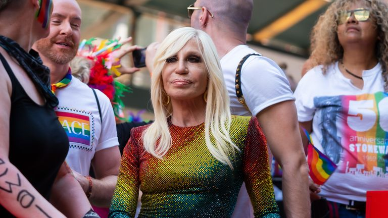 Donatella Versace said she was 'deeply sorry'