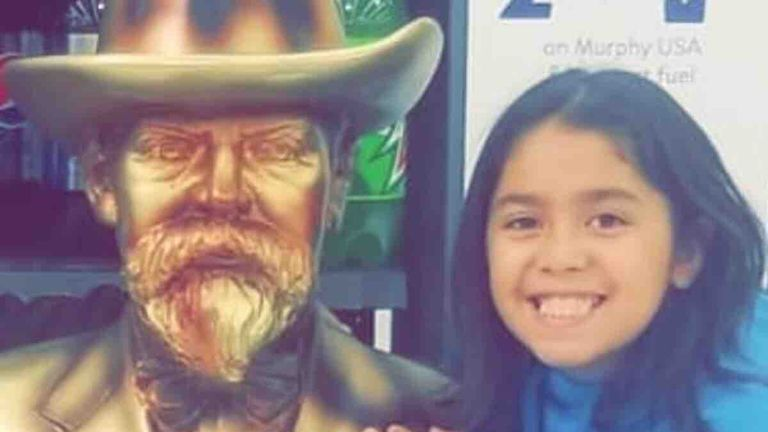 Emma Hernandez was riding her bicycle when she was attacked. Pic: GoFundMe