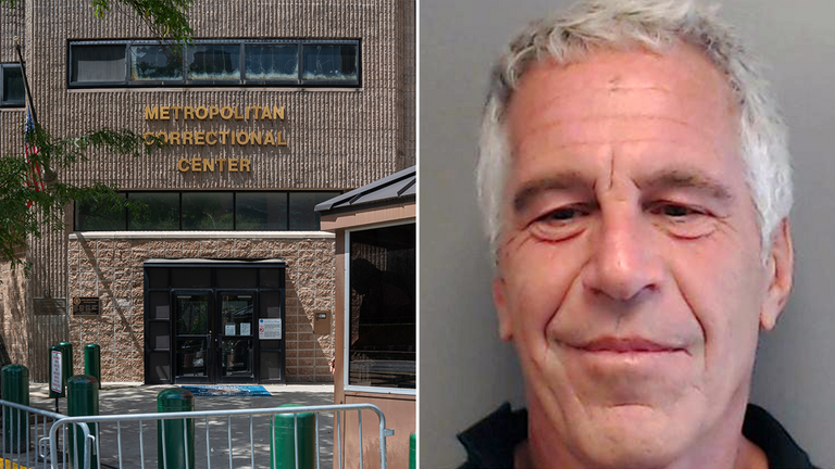 Epstein took his own life whilst at the Metropolitan Correctional Centre