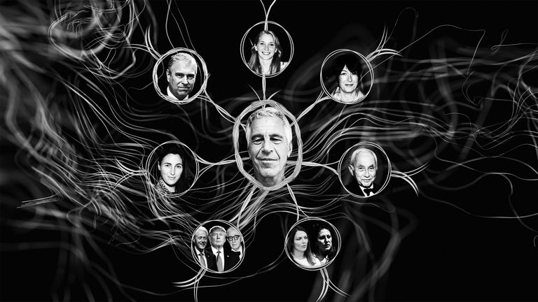 Jeffrey Epstein had a web of connections to the rich and famous