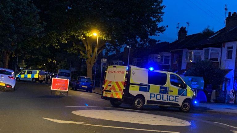 Goosemoore Lane in Erdington has been closed off by police