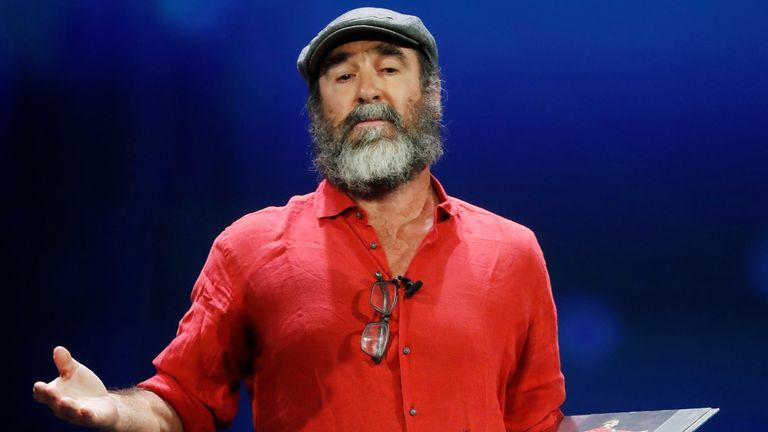 Eric Cantona speech has raised many people's eyebrows