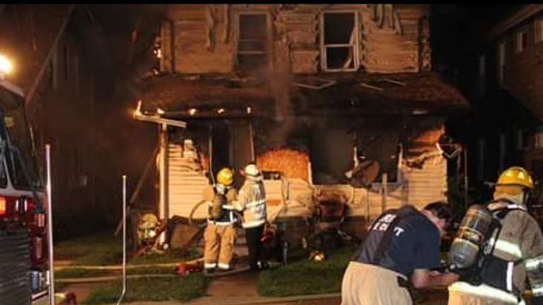 The victims were aged between eight months and seven years. Pic: Scooter Blakely/Erie fire department