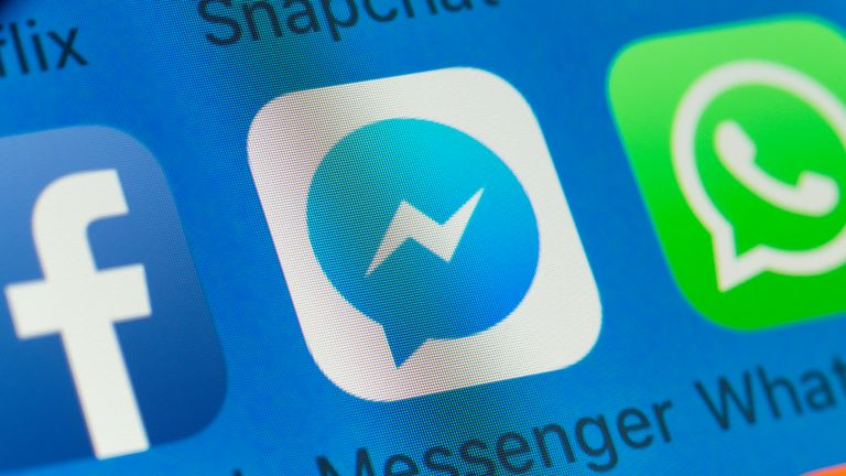 Users opted in via the Messenger app