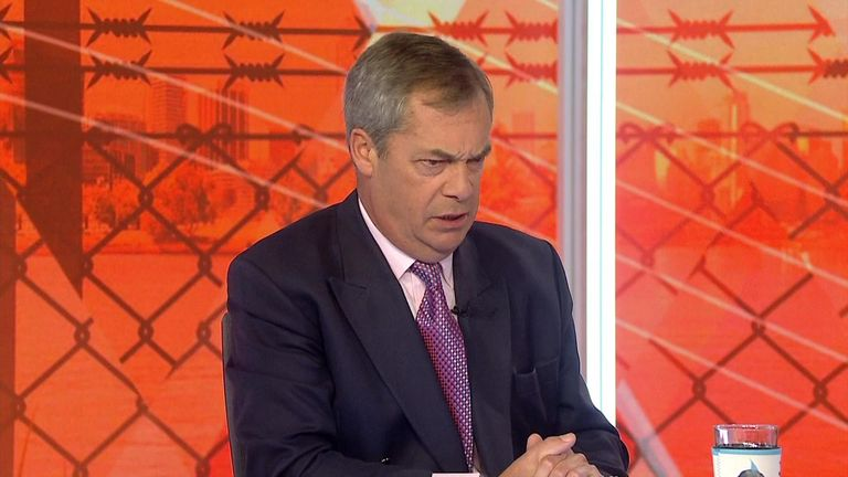 Farage: 'I did not stand for Charles'