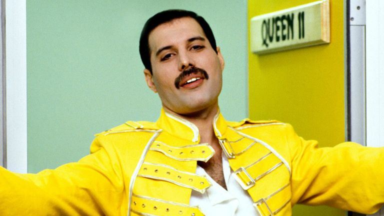 Queen's Freddie Mercury, 1986. Pic: Denis O'Regan