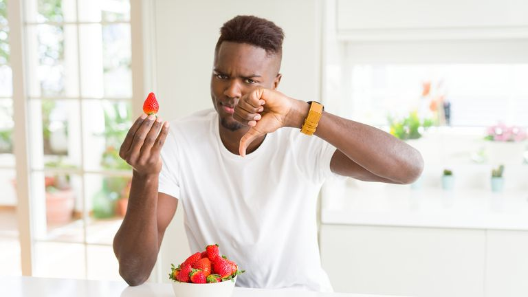 Young men are not eating enough fruit and veg