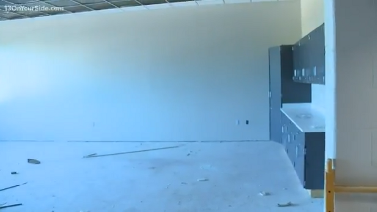 US school renovation gives children places to hide from