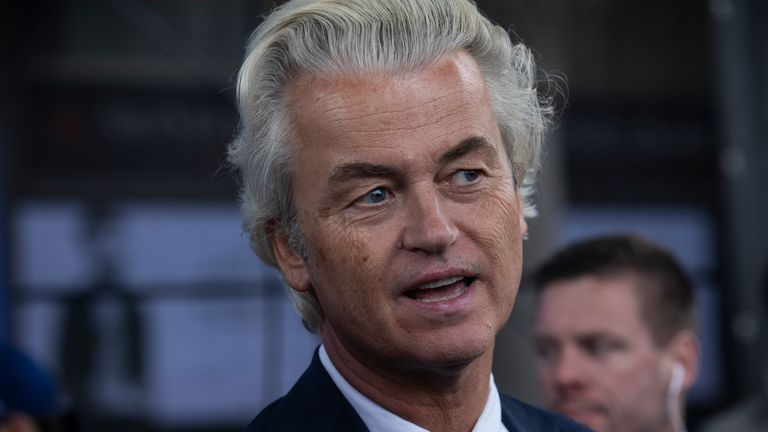 Geert Wilders has called for the ban to be expanded to include Islamic headscarves