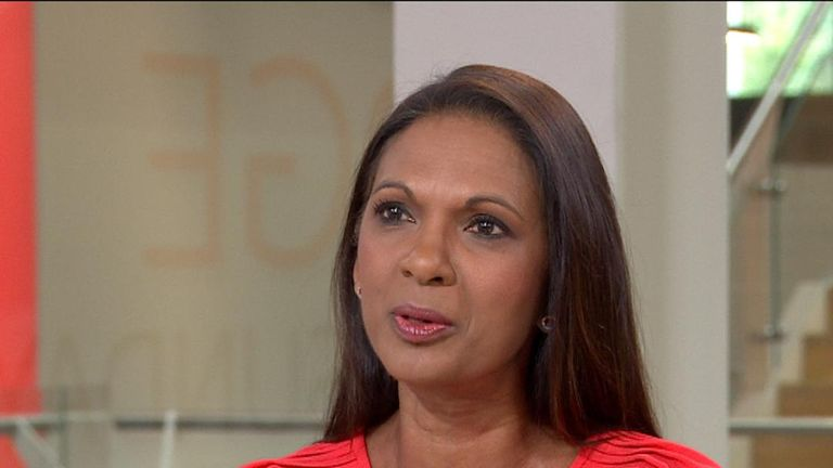 Gina Miller wants 'to protect the sovereignty' of parliament