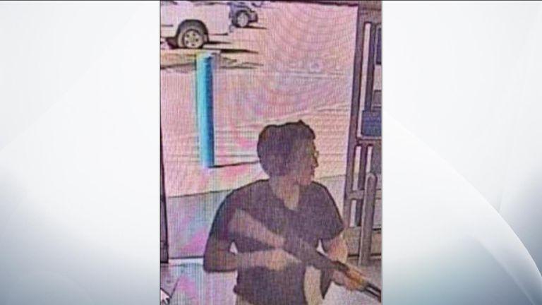 Alleged gunman