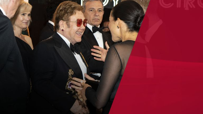 Elton John defended his gift of the flights to them