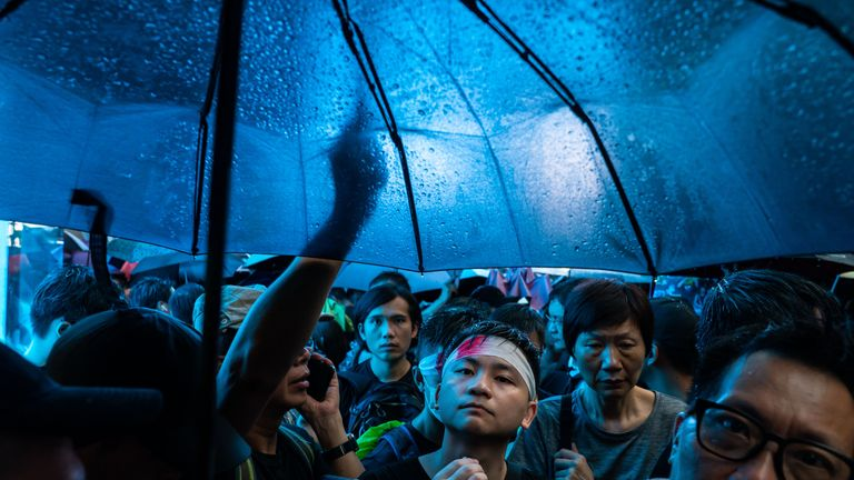 Huge Hong Kong march is show of absolute defiance