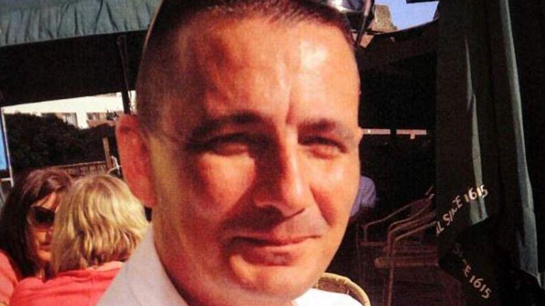 PC Ian Dibell was shot in 2012