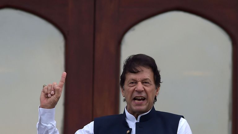 Pakistan's Prime Minister Imran Khan vowed to continue fighting for Kashmir until it is 'liberated'