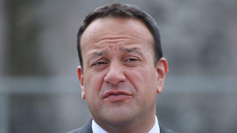 Irish PM Leo Varadkar